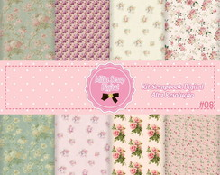 Kit Scrapbook Digital Shabby Chic #08