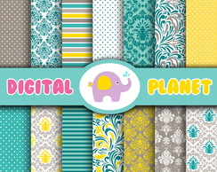Papel Digital - Beautiful Vintage