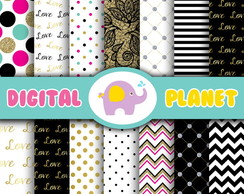 Papel Digital - Chic Girl