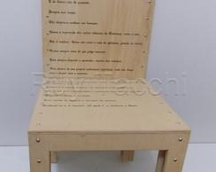 Resultado de imagem para poesia na cadeira