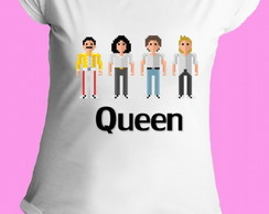 Camiseta Queen gola canoa 08