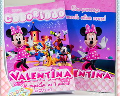 Revista colorir Minnie Rella's Magical