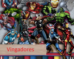 kit Digital Vingadores