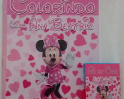Kit de Colorir da Minnie Rosa