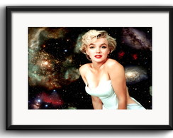Quadro Marilyn Monroe Retro com Paspatur
