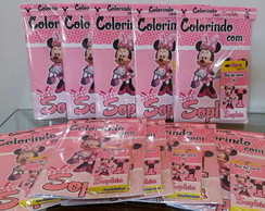 Kit colorir personalizado Minnie
