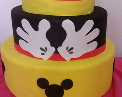 Bolo fake minnie e mickey p/ venda