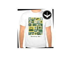 Camiseta Breaking Bad série
