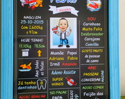 Chalkboard Super Wings 25x20 - Completo