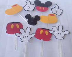 Kit Toppers Mickey com 10
