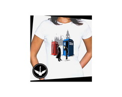 Camiseta Doctor Who série