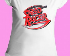 Camiseta Speed Racer gola canoa 10