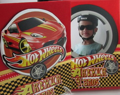 Álbum de Fotos Decorado - Hot Wheels