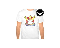 Camiseta Homer Rock n Roll