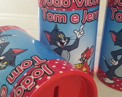 Cofrinhos Personalizados Tom e Jerry