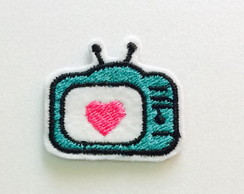 PATCH BORDADO TV TERMOCOLANTE