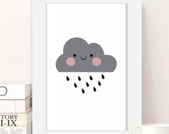 Quadro Pronto A4 Little Cloud QP036