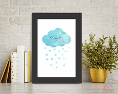 Quadro Pronto A4 Little Cloud QP038