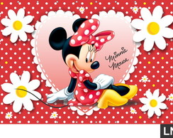 Painel Minnie Red 1,50x1,00m
