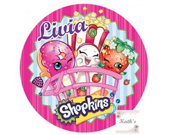 Papel Arroz SHOPKINS