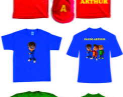 Kit Camisetas do Alvin e os Esquilos
