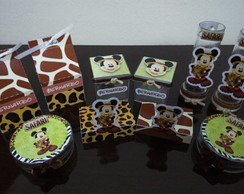 Kit personalizados Mickey Safari 50 pcs