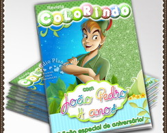 Revista de colorir Peter Pan