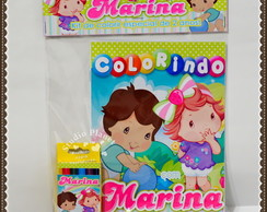 Kit de colorir Moranguinho Baby