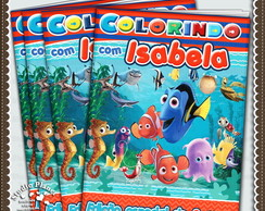 Revista de colorir Nemo