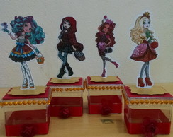 Caixa Acrílica Ever After High