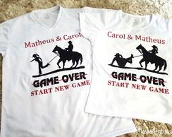 Kit Camisetas Game Over - Country