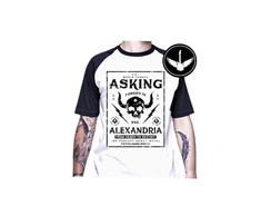 Camiseta raglan Asking Alexandria