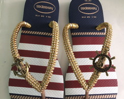 Havaianas Nautical Decorada