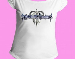 Camiseta Kingdom Hearts gola canoa 1