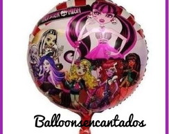 BALÃO METALIZADO MONSTER HIGH