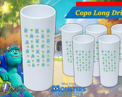 Copo Long Drink - Universidade Monstros