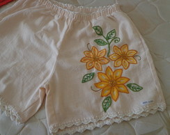 Short adulto bordado M 18 VENDIDO