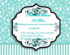 Convite De Aniversario Latinha Elo7