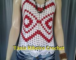 ... Camiseta de Crochet 6ac5e52489824