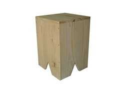 MAXI Banco Cubo Naturelly