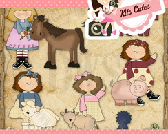 Kit Digital Animais 02