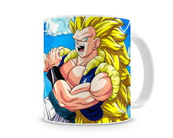 Caneca Dragon Ball Goku Super Sayajin