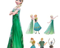 Kit Display Festa Infantil Frozen Fever