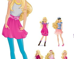 Kit Display Festa Infantil Barbie