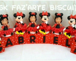 CUBOS DECORATIVOS MDF MINNIE BISCUIT