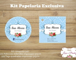 Kit Papelaria Exclusiva