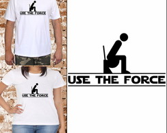 Camisetas Use the Force