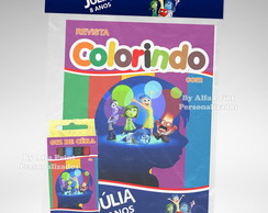 Kit Colorir Divertidamente + Brindes