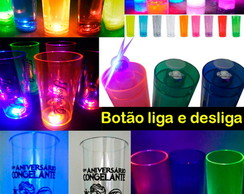 Copos Long Drink Led - Pisca-pisca