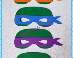 Mascara Tartaruga Ninja Elo7